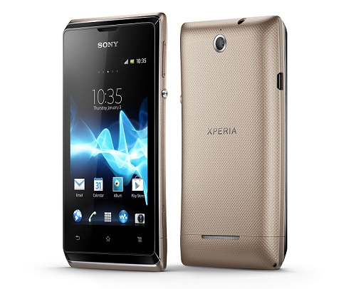 11 Xperia E dual Group Gold