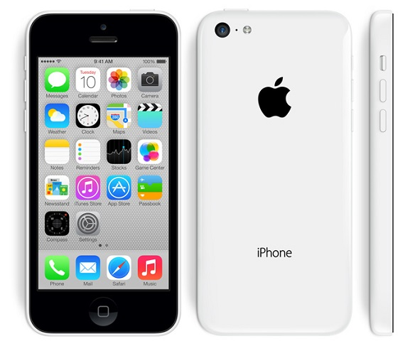 Apple iPhone 5C offitsial 5