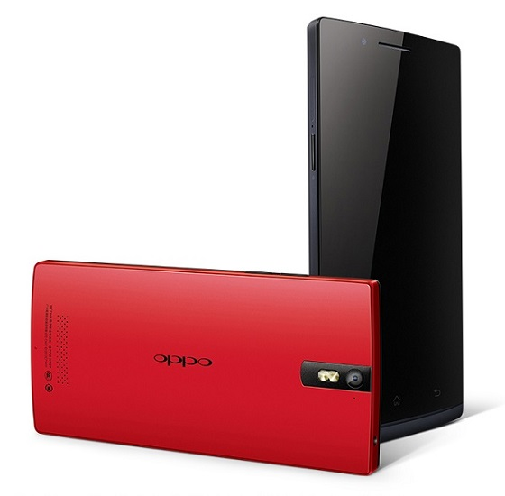 Oppo Find 5 Red Edition 2