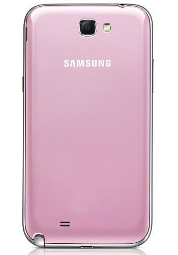 Samsung Galaxy Note II pink 2