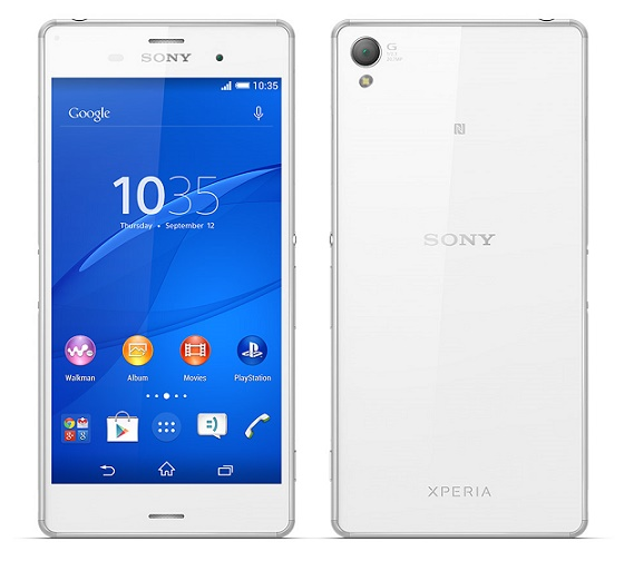 Sony Xperia Z3 official 5