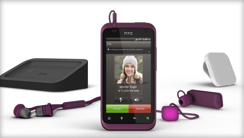 HTC Rhyme-plum