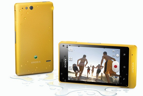 Xperia_go_yellow